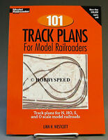 KALMBACH 101 TRACK PLANS BOOK TRAIN lionel mth layout ho o gauge 12012 NEW