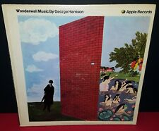 George Harrison WONDERWALL MUSIC original SOUNDTRACK 1968 APPLE BEATLES