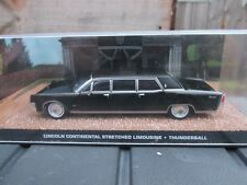 JAMES BOND CARS COLLECTION 119 Lincoln Continental Stretch Thunderball