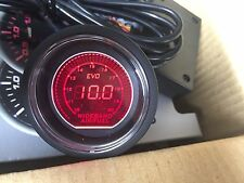 High quality 52mm AFR Wideband  gauge UEGO Air/Fuel Ratio Red / Blue Selectable
