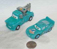 Disney Pixar Cars Color Changers Lot x2 Mater & Dinoco Lightning McQueen 2 in 1