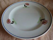 P. REGOUT SPHINX MAASTRICHT ontbijtbord bloemen 21cm bord 1941 breakfast plate F