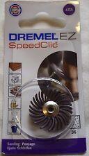 DREMEL 471S EZ SpeedClic Dettagli Abrasivo Spazzola 36 Grit 2615S471JA DREMEL 471