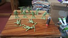 Vintage WW2 Japanese Infantry Toy Soldiers.