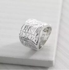 Silpada 'desert Wishes' Etched Ring in Sterling Silver 7
