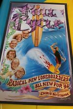 Full Cycle 1994 Chris Bystrom Australian Surfing Film Vintage 14x24in. Poster