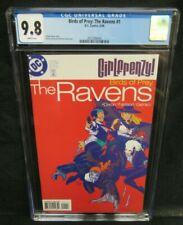 Birds of Prey: The Ravens #1 (1998) DC Girlfrenzy CGC 9.8 White Pages V905