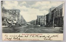 early 1900s Postcard Broad Street Texarkana Arkansas Texas TX PC