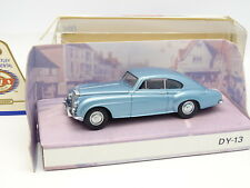 Dinky Matchbox 1/43 - Bentley Continental Coupe R Bleue 1955