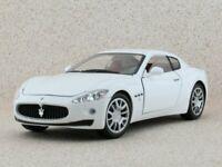 MASERATI Gran Turismo - white - MotorMax 1:18