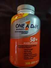 One A Day Women's 50+ Multivitamin 300 Tablets 4/2021 adult senior vitamins
