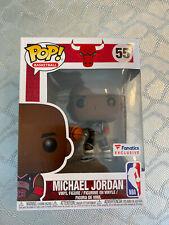 Limited Fanatics Exclusive Funko Pop Michael Jordan MJ #55  Retro Last Dance