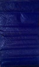 African Print Fabric/ Ankara - Solid Dark Blue, Per Yard