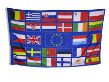 3x5 European Union Countries Rough Tex Knitted Flag 3'x5' Banner