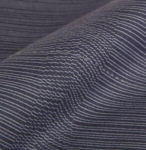 CALVIN KLEIN BAMBOO FLOWER BLUE RHYTHMIC STRIPE 2pc FULL FLAT & FITTED SHEET SET