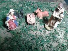 Nativita' 10 cm  resina miniature presepe crib shereped gia