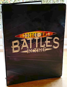 Dr Doctor Who Battles in Time Cards - A4 9 Pocket Album Binder - PICK CONDITION