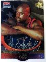 1996 96 Upper Deck USA SP Career Statistics Gold Shaquille O'Neal #S5, Die Cut