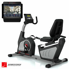 Sportstech ES600 Cyclette Reclinabile ellittica sistema autogenerante Fitness
