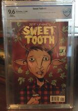 Sweet Tooth #1 Cbcs 9.6 1st appearance of Gus (Jeff Lemire)