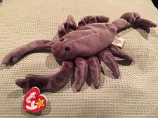 Rare Ty Stinger Beanie Baby Scorpion Retired 1997 Tag Babies Original Tag Errors
