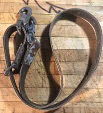 Vintage Klein Tools Inc Pole Tree Climbing Belt Lanyard 6ft Usa