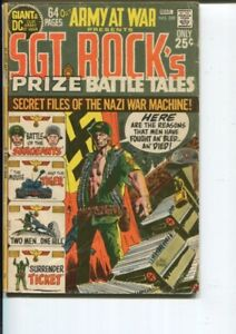 OUR ARMY AT WAR 229 VG+ 64-PAGE GIANT KUBERT C/A DRUCKER 1971