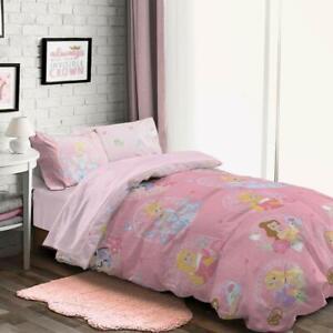 Disney Princess Single Quilt Cover and Pillowcase set 100% Cotton
