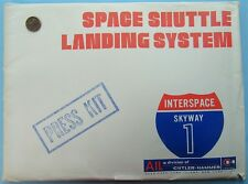 NASA PRESS KIT vtg SPACE SHUTTLE LANDING SYSTEM AIL History Technical Stats