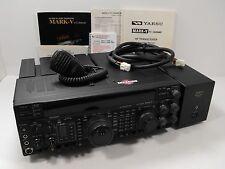 Yaesu FT-1000MP Mark V HF All Mode 200 Watt Transceiver +Orig Manual, FP-29, Mic