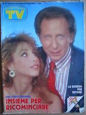 TV Sorrisi e Canzoni n°15 1986 Trailer 9 Settimane 1/2 - Mike Bongiorno [D7]