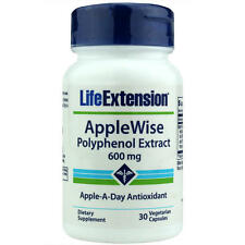 TWO BOTTLE Life Extension $13.35 Applewise Polyphenol Extract cardio blood sugar