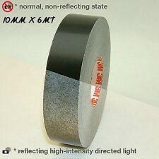 3M™ 580 scotchlite reflective tape stripe for wheel black color 10mm x 6MT new!!