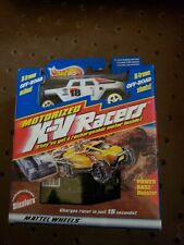 1997 HOT WHEELS OFF ROAD--MOTORIZED X-V RACERS ACCELERAIDER WHITE HUMMER (NEW)