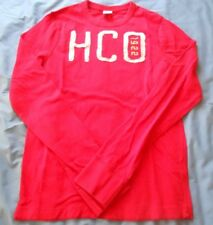 Hollister Womens Size Medium Long Sleeve Sweater Pullover Red HCO 1922