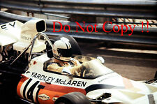 Denis Hulme McLaren M19C Monaco Grand Prix 1972 Photograph 1