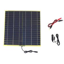 visiPower 15W 18V 0.85A Solar Cell Solar Panel Battery Charger For 12V Battery