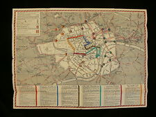 London Transport 1937 Poster Map of the Coronation Arrangements