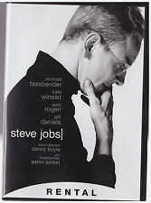 STEVE JOBS (DVD, 2016) RENTAL EXCLUSIVE