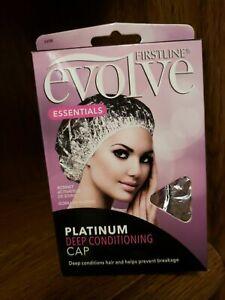 NEW FIRSTLINE Evolve Platinum Deep Conditioning Cap ~ Prevents Hair Breakage