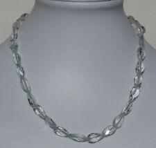 Natural Aguamarina COLLAR, collar de piedras preciosas con facetada Pepitas