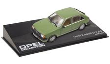 OPEL Kadett D 1.6 S 1/43 MAßSTAB AUTO DIECAST MODELLAUTO CAR IXO -60