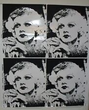 """Vintage Jean Harlow """"Harlow Bombshell"""" Screen Print Poster Old Hollywood MGM"""