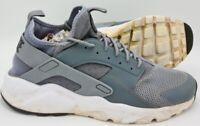 Nike Air Huarache Run Ultra Trainers 819685-011 Cool Grey UK10.5/US11.5/EU45.5
