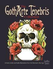 Goth Art Tenebris Adult Colouring Book Gothic Halloween Animal Skulls Tattoo Gif