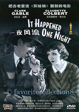 It Happened One Night (1934) - Clark Gable, Claudette Colbert - DVD NEW