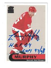 Larry Murphy AUTOGRAPH HOCKEY CARD HAND SIGNED DETROIT RED WINGS HOF 04