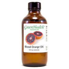 4 fl oz Blood Orange Essential Oil (100% Pure & Natural) in Amber Glass Bottle