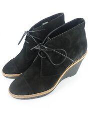 L.K.Bennett Madi Suede Ankle Boots Black Size UK 5 EU 38 NH03 80