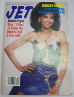 Jet Magazine Marilyn McCoo, Richard Pryor December 1986 Digest Size 091012R